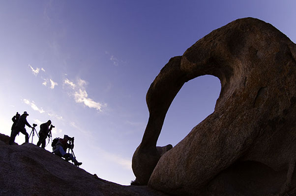 Mobius Arch, California